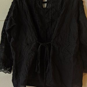 Anthropologie Tops - eri + ali by Anthropologie Black Blouse